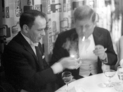 Phil Stern, 'Frank Sinatra with John F. Kennedy, JFK Inaugural', 1961