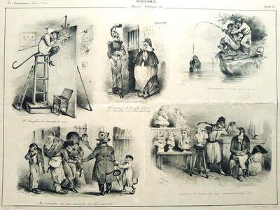 J.J. Grandville, 'Singeries ', 1832