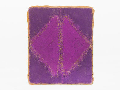 Hanna Eshel, 'Untitled (10) -- Violet 2 Triangle - Dialectique', 1969