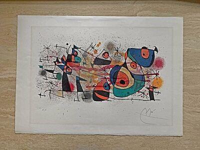 """Joan Miró, '""""Ceramique"""" from 'Ceramiques de Miro et Artigas'', 1974"""