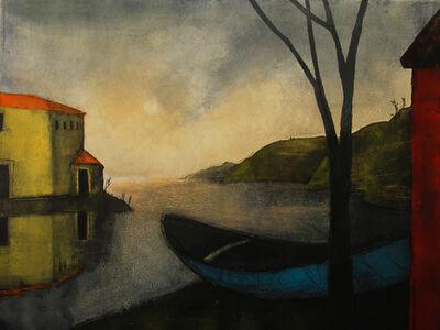 Treacy Ziegler, 'In A Small Blue Boat', 2014
