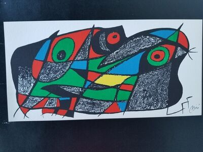 """Joan Miró, '""""Fotoscop I"""" Original lithograph signed in the plate', 1974"""