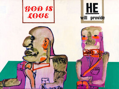 Robert Hodgins, 'God is Love', 2009
