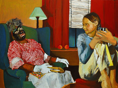 Beverly McIver, 'Watching Mammy Sleep', 2003