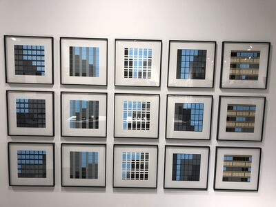Julian Opie, 'Office Windows (Portfolio)', 2017