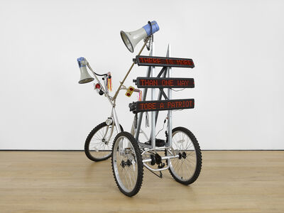 Marinella Senatore, 'Protest Bike', 2018