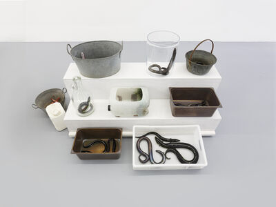 Charles Avery, 'Untitled (eel stand 1)', 2020