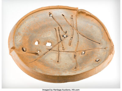 Peter Voulkos, 'Pierced Plate', 1980