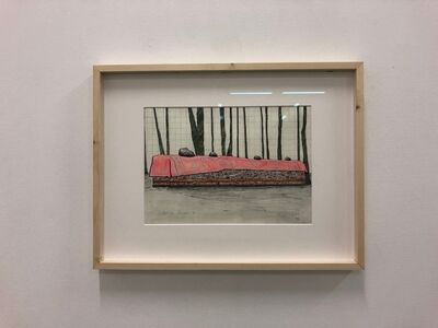 Finbar Ward, 'Ortisei diaries I', 2018