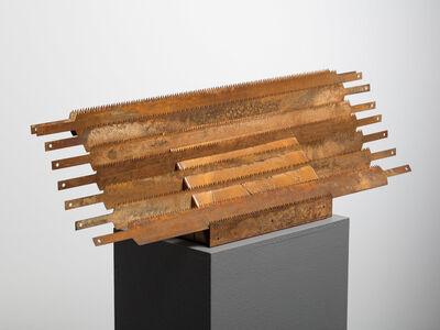 Heinz Mack, 'Lamellar Sculpture with Eight Saw Blades', 1954