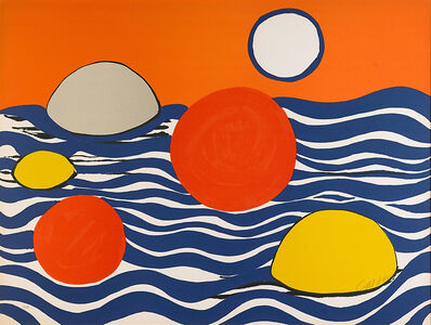 Alexander Calder, 'Circles and Waves'