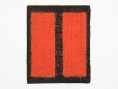 Hanna Eshel, 'Untitled (12) -- Rouge Noir Dialectique', 1971