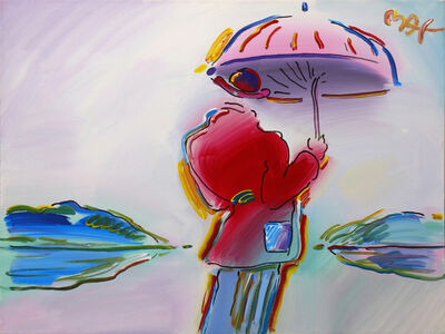 Peter Max, 'ARTIST SERIES 1992: UMBRELLA MAN VER. III #2', 2003
