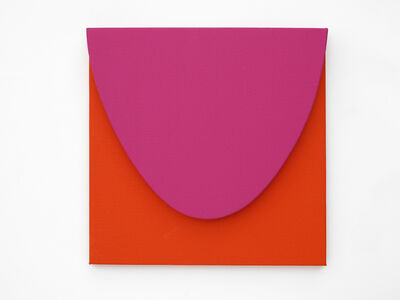 Gavin Turk, 'Small Pink on Red', 2019