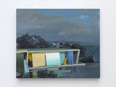 Ulf Puder, 'Die Insel (the island)', 2020