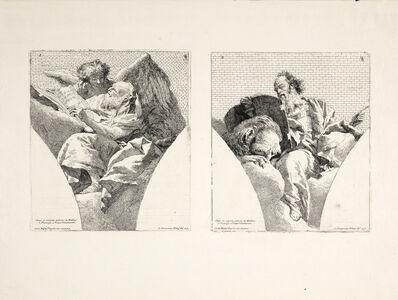 Giovanni Domenico Tiepolo, 'Plates 1-2', 1743