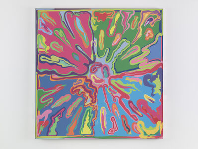 Peter Halley, 'Explosion #9 (prototype)', 2015