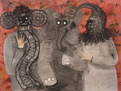 Stephan Goldrajch, 'Les trois éléphants', 2018