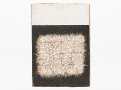 Hanna Eshel, 'Untitled (30) -- Noir Blanc Irrégularités', 1971