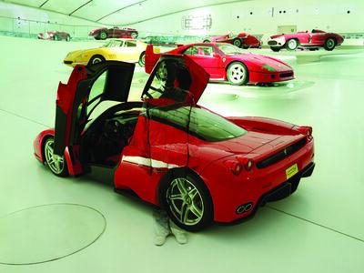 "Liu Bolin, 'Hiding in the City: Innovation Ferrari ""Enzo""', 2014"