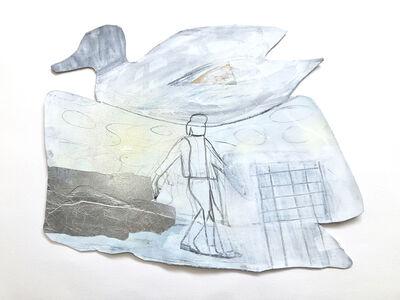 Miriam Hitchcock, 'West Lake Walking', 2019