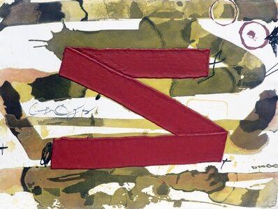 Antoni Tàpies, 'Z', 1979