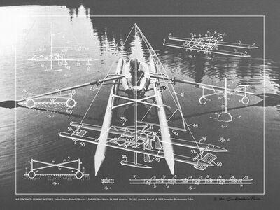 R. Buckminster Fuller, 'WATERCRAFT - ROWING NEEDLES', 1981