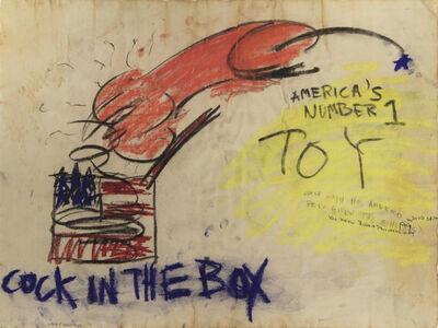 Judith Bernstein, 'COCK IN A BOX', 1966