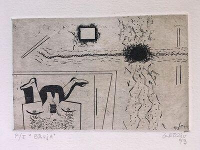 Gunther Gerzso, 'Bruja', 1993