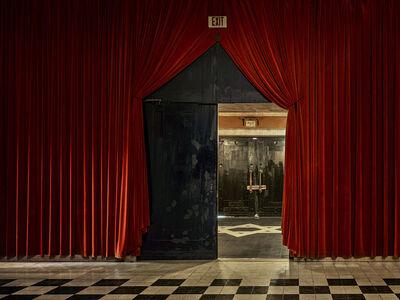 Andrew Moore, 'Black Door, The Temple Downtown, Mobile, AL', 2017