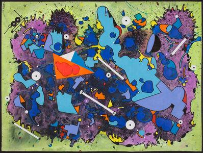 Luis Cruz Azaceta, 'FALLING SKY: OUTBREAK II', 2014