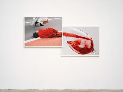 Viktoria Binschtok, 'Red Man Wine', 2019