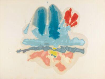 Helen Frankenthaler, 'Hommage à M.L.', 1962