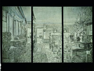 Richard Artschwager, 'Triptych V', 1972