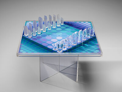 Victor Vasarely, 'Victor Vasarely Artistic Chess Set, 1979', 1979