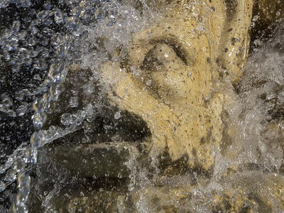 Salvatore Lopes, 'Abstract – Fountain – Catania – Sicily'