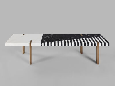 Isabelle Stanislas, ''Ellipse' Bench/Coffee Table by Isabelle Stanislas', 2109