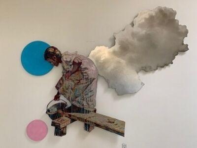 Hung Liu, 'Silver Lining', 2019