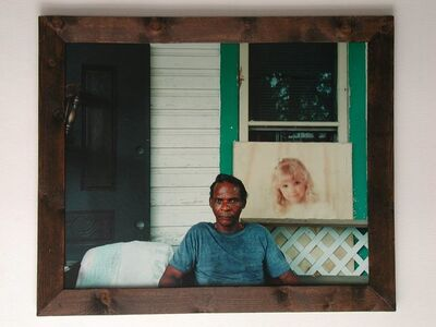 Esko Männikkö, 'Cowboy, San Antonio', 1996