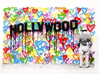 Mr. Brainwash, 'Hollywood, 2016', 2016