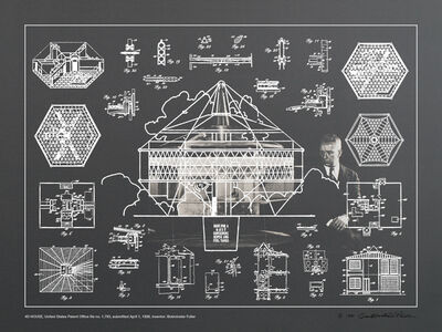 R. Buckminster Fuller, 'Inventions: Twelve Around One (Portfolio of 13 prints, with catalog)', 1981