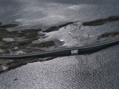 Peter Vanderwarker, 'Cribstone Bridge, Orr's Island, Maine', 2013