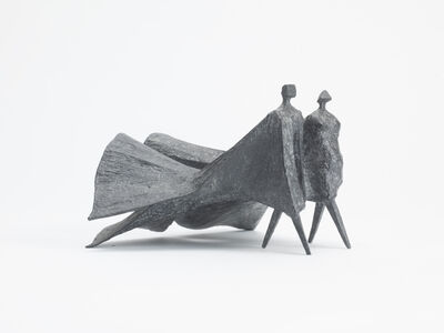 Lynn Chadwick, 'Winged Cloaked Figures V', 1978