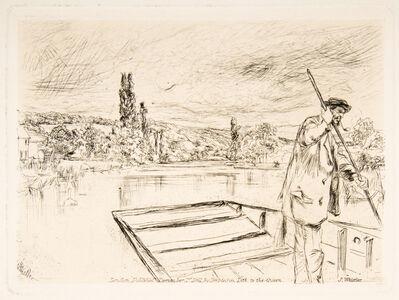 James Abbott McNeill Whistler, 'The Punt', 1861