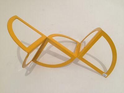 Carlos Evangelista, 'Open circles. Yellow 18/25', ca. 2010
