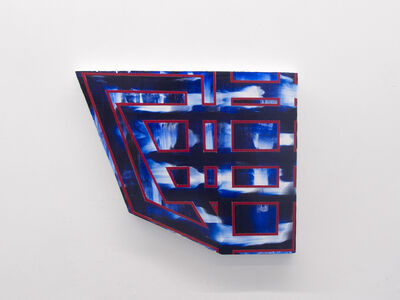 Elyce Abrams, 'Blue/Red', 2017