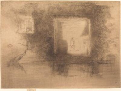 James Abbott McNeill Whistler, 'Nocturne: Furnace', 1880