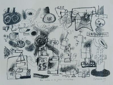 Corneille, 'Place des Vosges, 'Au salon de la jeune sculpture' ', 1966