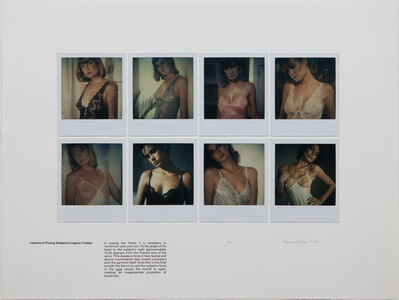 Robert Heinecken, 'Lessons in Posing Subjects/Lingerie (Teddy)', 1981
