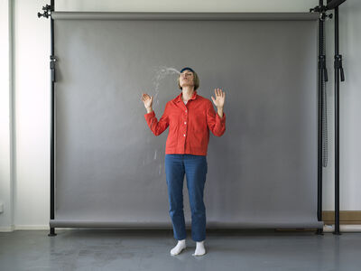 Elina Brotherus, 'Artist as Fountain', 2019